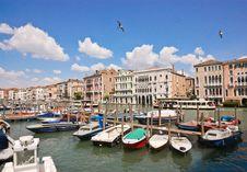 Free Venetian Scenery Royalty Free Stock Photo - 19296705
