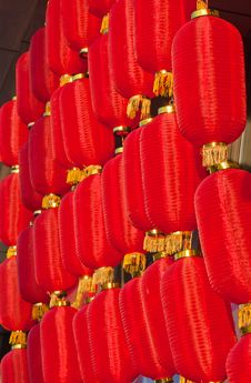 Free Red Lanterns Stock Images - 19296824