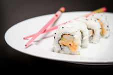 Free Spicy Maki Stock Photo - 19296920