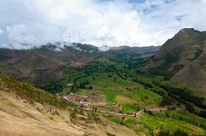 Free Mountain View, Pisac Peru Stock Photography - 19297112