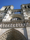 Free Notre-Dame From Below Stock Photography - 1935702