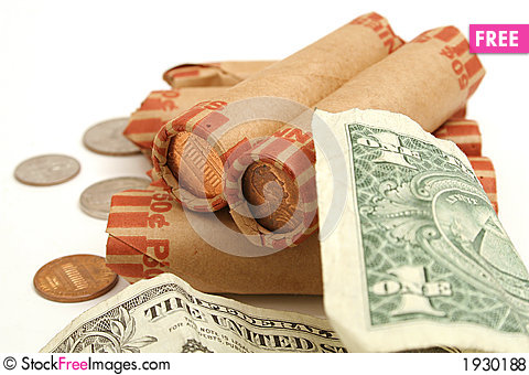 Free Spare Change On Top Royalty Free Stock Photos - 1930188