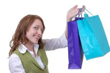 Free Proud Teen Shopper Royalty Free Stock Image - 1930866