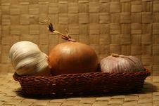 Free Garlic And Onion Stock Photos - 1930983