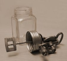 Free Vintage Butter Churn Royalty Free Stock Image - 1931356