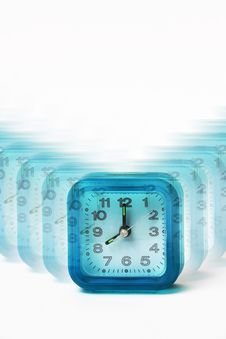 Free Blur View Of Clocks Stock Photography - 1931382