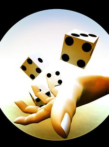 Dice 81 Stock Photography
