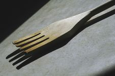 Free Wooden Fork Utensil Stock Photography - 1932822