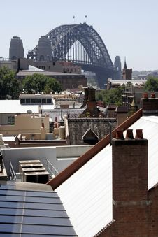 Free Sydney Harbour Bridge Royalty Free Stock Photo - 1935515