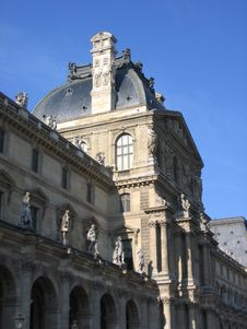 Free A Part Of Louvre Royalty Free Stock Photos - 1935558