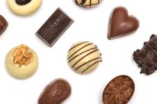Free Mixed Chocolates Stock Photography - 1937382