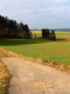 Free Landscape In Germany, Baviera Royalty Free Stock Photo - 1938085