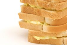 Free Egg Salad Stack Copyspace Left Stock Photography - 1938292