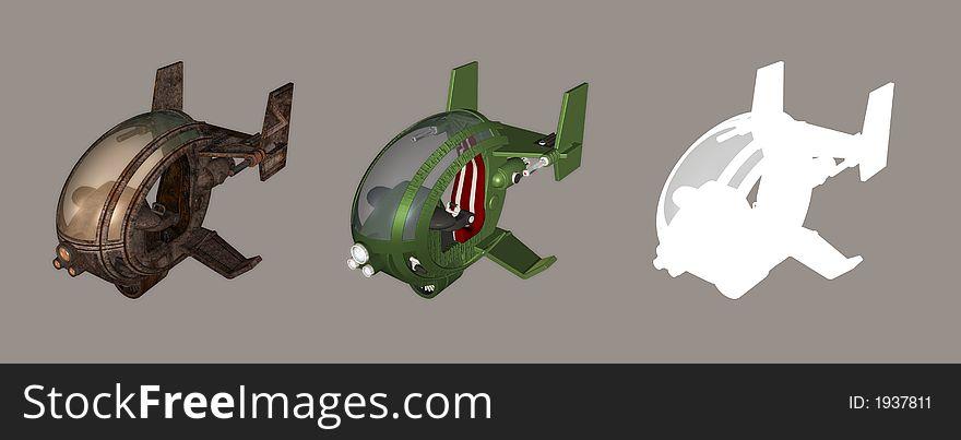 Futuristic Chopper