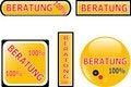 Free 100 Consultation Button Set Royalty Free Stock Photo - 19303255