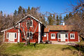 Free Old Rural House In Sweden. Royalty Free Stock Photography - 19303807