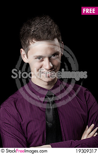 Free Young Business Man Royalty Free Stock Photography - 19309317