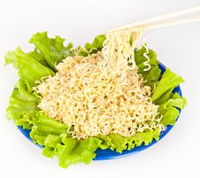 Free Vermicelli And Lettuce Stock Images - 19300634