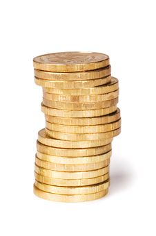 Free Golden Coins Stock Images - 19300724