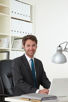 Free Business Man In Office Stock Photos - 19301493