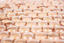 Free Background With Many Orange Glass Balls Stock Photography - 19301672