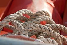 Free Marine Rope Royalty Free Stock Images - 19301869