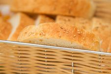Free Slices Of Home Made Bread In The Royalty Free Stock Photography - 19301897
