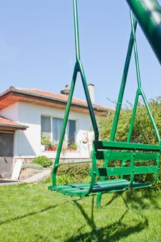 Free Home With Swing Stock Photo - 19302300