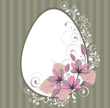 Free Stylized  Frame With Flowers Royalty Free Stock Image - 19302366