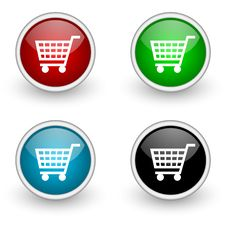 Free Shop Icons Stock Photography - 19302572