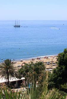 Free Mediterranean Coast In Andalucia Royalty Free Stock Image - 19302966