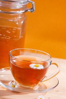Free Cup Of Herbal Tea Stock Photography - 19303662