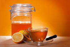 Free Cup Of Herbal Tea Stock Photo - 19303780