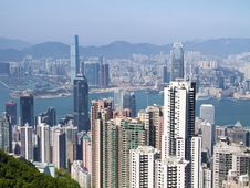 Free Hong Kong Skyline Royalty Free Stock Image - 19303886