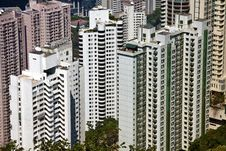 Free Residential Building In Hong Kong Royalty Free Stock Image - 19303916