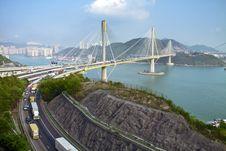 Free Ting Kau Bridge In Hong Kong Stock Photos - 19304273