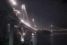 Free Ting Kau Bridge In Hong Kong Royalty Free Stock Image - 19304406