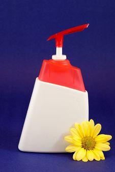 Free Liquid Soap Container Stock Image - 19304491