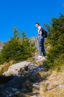 Free Hiker Stock Image - 19305601
