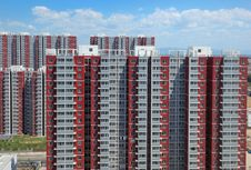 Free Apartment,Building,Beijing,China Royalty Free Stock Image - 19306566