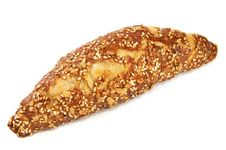 Free Croissant With Seeds Isolated Stock Image - 19307171