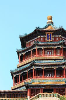 Free The Foxiangge Of Summer Palace Stock Photography - 19307312