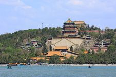 Free Summer Palace Royalty Free Stock Image - 19307346