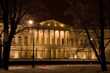 Free The Building Of The Russian Museum Stock Images - 19307504