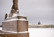 Free Sphinx In Saint-Petersburg Royalty Free Stock Photo - 19307565