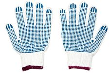 Free Pair Of New Work Gloves Royalty Free Stock Image - 19308216