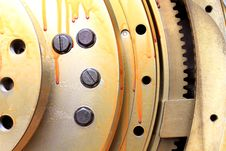 Free View Of Gears From  Mechanism Stock Image - 19308941