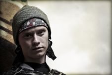 Free Paintball Player Portrait Stock Photos - 19309403