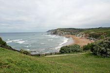 Free Sopelana Beach Royalty Free Stock Photo - 19309935