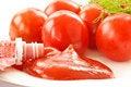 Free Fresh Tomato Ketchup Royalty Free Stock Image - 19315606
